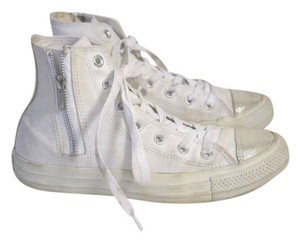 Converse White Athletic