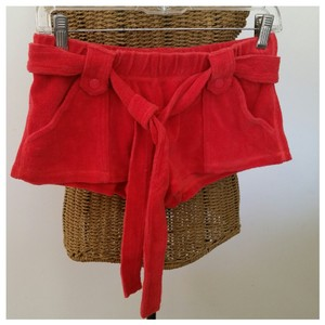 Juicy Couture Dress Shorts Red