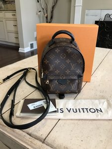 Louis Vuitton Palm Springs Mini Crossbody Travel Weekend Backpack