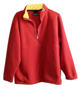 Lands' End Fleece Jacket Sweater