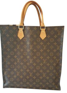 Louis Vuitton Sac Plat Tote in Monogram