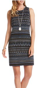 Karen Kane short dress Teal Multi on Tradesy
