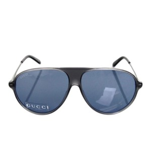 Gucci Authentic Unisex Aviator Sunglasses GG1649/s JJ376 Gray/Blue W/O Box