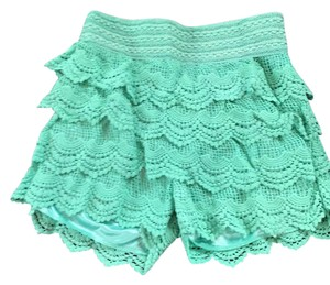 Love Culture Dress Shorts turquoise