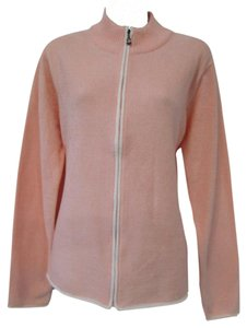 Other Mock Neck Zipper Sport Casual Pink Jacket