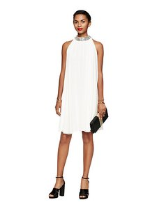 Kate Spade short dress cream Shift Cocktail Embellished Party on Tradesy