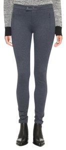 Vince Faux Zip Pockets Skinny Pants Coastal grey