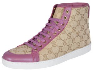 Gucci High Top Sneakers Pink Sand/Pink Athletic