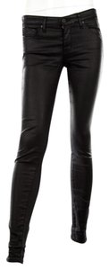 AG Adriano Goldschmied Waxed The Absolute Legging Extreme Skinny Zip Fly Skinny Jeans-Coated
