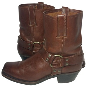 Frye 77455 Harness Size 8.5 Women's 8.5 Brown Boots