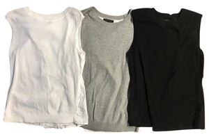 Banana Republic Top Black, Grey, & White