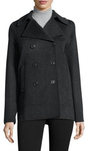Vince Peacoat Jacket Wool Nylon Coat
