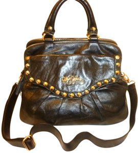 Betsey Johnson Refurbished Leather X-lg Convertible Cross Body Bag