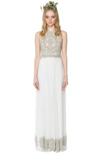 Mara Hoffman Athena Beaded Gown Wedding Dress