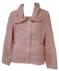 Chico's Textured Casual Pastel Spring Jacket