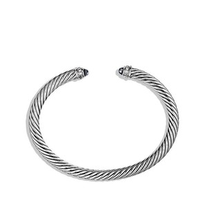 David Yurman David Yurman 5MM Black Onyx Cable Bracelet w/Diamonds