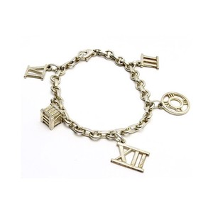 Tiffany & Co. Sterling Silver Atlas Charm Bracelet