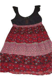 Free People short dress Multi Aztec Print on Tradesy
