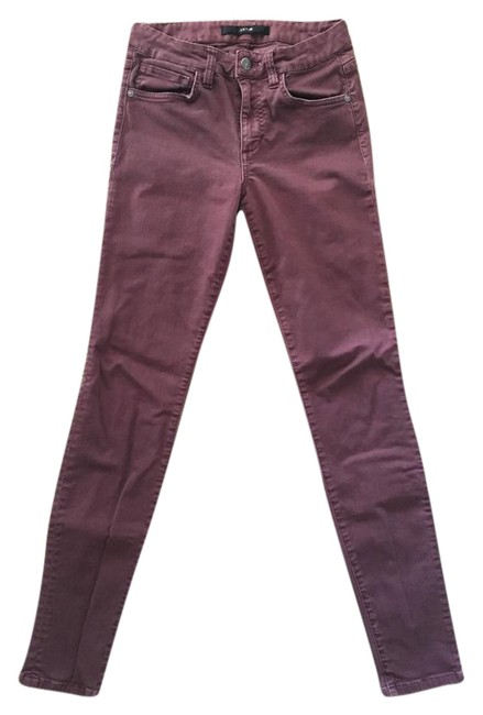 Item - Maroon Visionaire Skinny Jeans Size 26 (2, XS)
