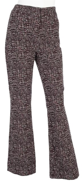 Preload https://img-static.tradesy.com/item/21057282/lela-rose-maroon-and-black-and-textured-pants-size-4-s-27-0-1-650-650.jpg