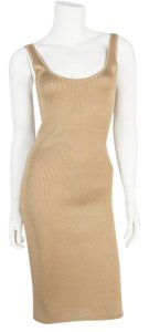 Ralph Lauren Black Label short dress gold on Tradesy