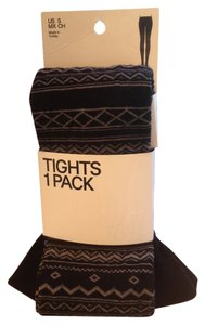 H&M FLASH SALE Winter S NWT Tribal/ Aztec Tights Small Free shipping!