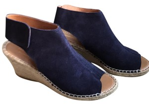 Maypol Navy blue Wedges