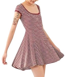 Cooperative short dress red and white stripes on Tradesy