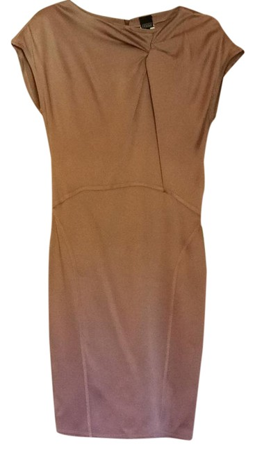 Item - Blush Mid-length Cocktail Dress Size 4 (S)