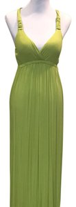 Green Maxi Dress by Pink Rose