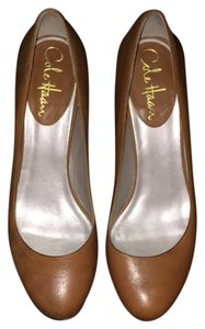Cole Haan Tan Wedges