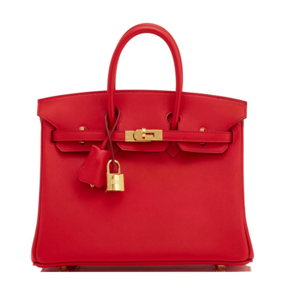 6d738220633 Hermès Birkin 25 Rouge Casaque Baby Birkin Red Birkin 25 Satchel in  Vermillion Image 0 ...