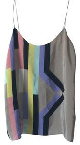 Tibi Top multi-colored