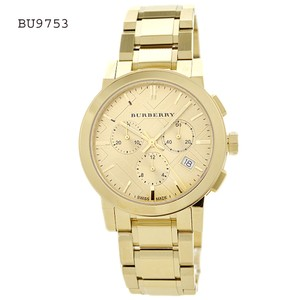 Burberry Burberry Women's Swiss Chronograph The City Gold Ion-Plated BU9753