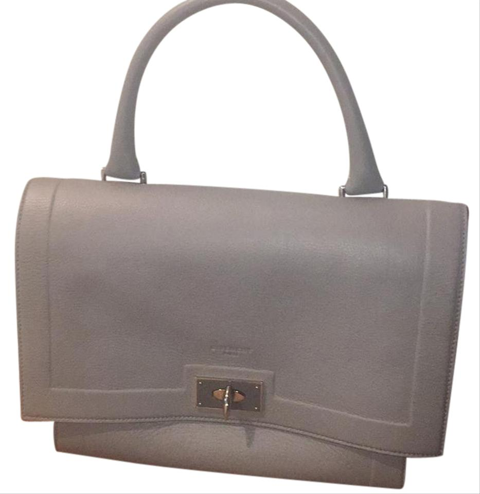 8fe4e13384 Givenchy Medium Shark In Textured-leather Grey (Heather Light Grey) Soft  Cross Body Bag