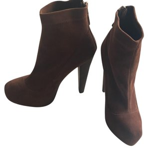 Brian Atwood cognac Boots