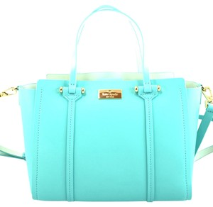 Kate Spade Satchel in blue soft aqua