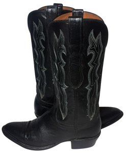 Lucchese 7.5 Cowgirl Women's 7.5 Western 7.5 Black Boots