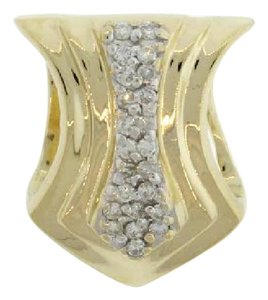 Other 14k gold with 1/3 carat diamonds slider pendant/necklace