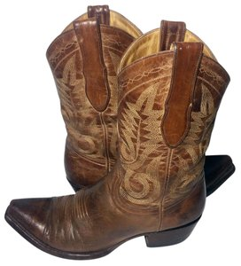 Old Gringo Size 7 Cowgirl Women's Brown Boots