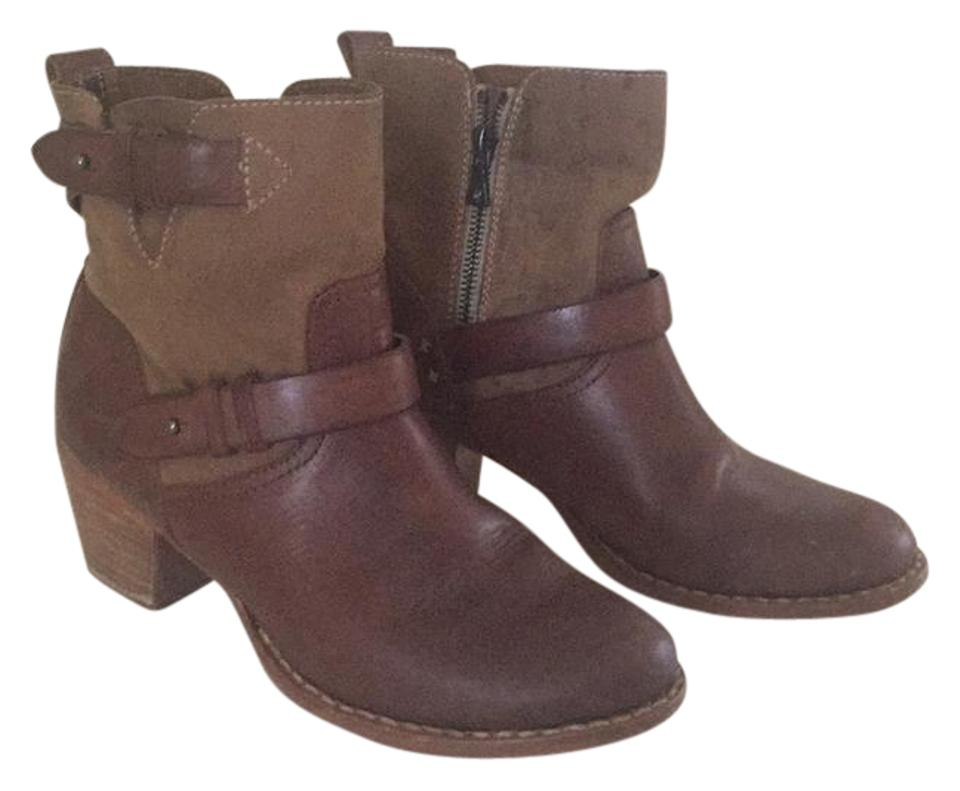 Rag & Bone Brown Ankle Moto Ankle Brown Boots/Booties e72f33