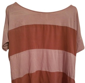 beholic hollywood Top Mauve and pale pink