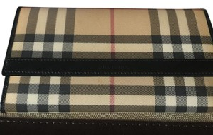 Burberry Burberry Nova Check Black Long Wallet