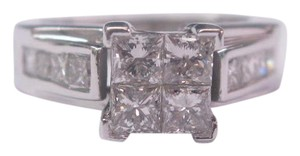 Other Fine Invisible Diamond Engagement Ring WG 14KT 1.62Ct