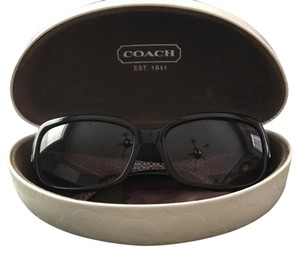 Coach Coach Sunglasses with Gold Accents