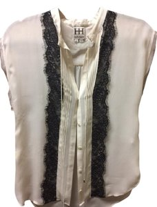 Haute Hippie Top cream