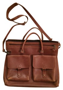 USA Leather Messenger Leather Vintage Pockets Brown Messenger Bag