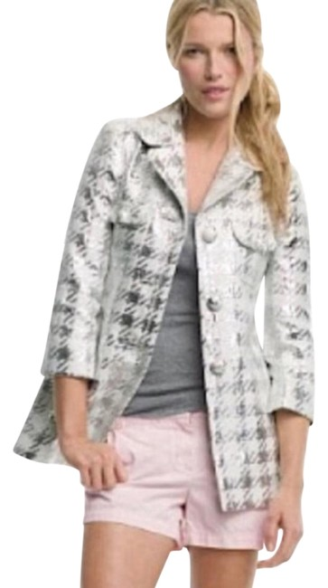 Item - Gray Collection Silk Jacket Size 0 (XS)