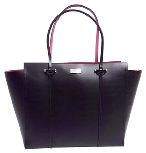 Kate Spade Satchel Laptop School Work Tote in Black