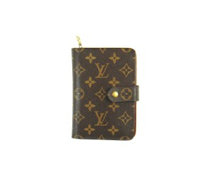 Louis Vuitton Porte Papier Zippy Monogram Zip Clutch Organizer Wallet